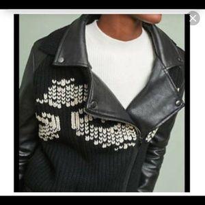 Anthropologie Motto Jacket